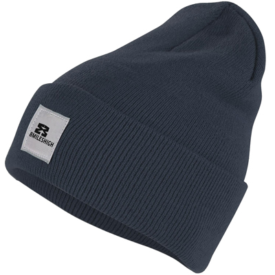 EIGHT MILES HIGH Beanie CLASSIC matte blue