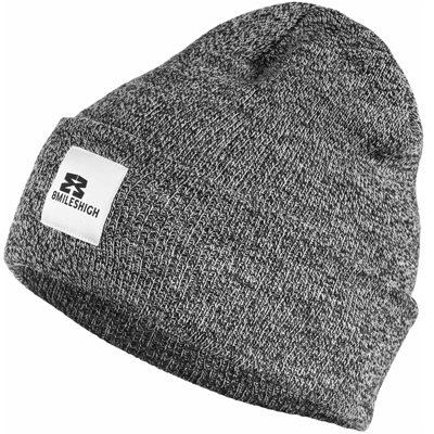 EIGHT MILES HIGH Beanie CLASSIC heather dark grey