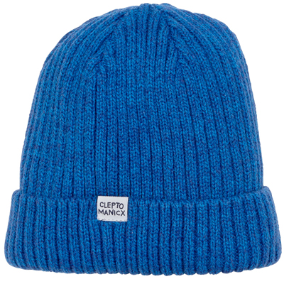 CLEPTOMANICX Beanie HAFEN BICOLOR dark navy