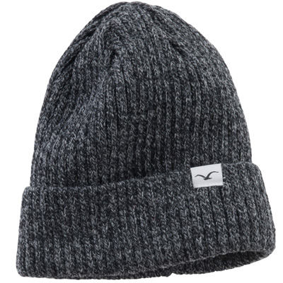 CLEPTOMANICX Beanie HAFEN BICOLOR heather black