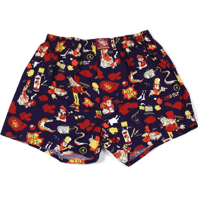 CLEPTOMANICX Boxershorts ROSY ONE purple