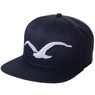 CLEPTOMANICX Snap Back Cap MÖWE dark navy