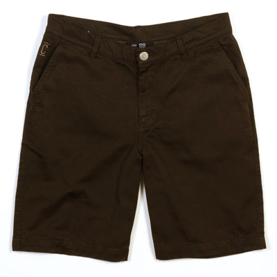 CLEPTOMANICX Chino Shorts PORT CLASSIC brown