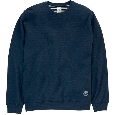 CLEPTOMANICX Knit Sweater WOOZER dark navy