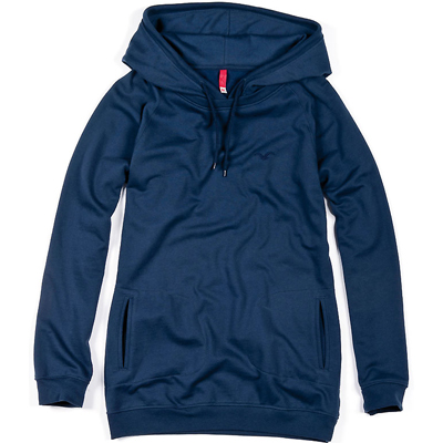 CLEPTOMANICX Girl Long Hoody LAYERICX navy