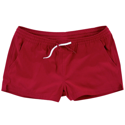 CLEPTOMANICX Girl Swim Shorts MIAAMI burgundy