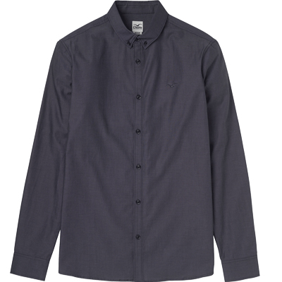 CLEPTOMANICX Shirt OXFORD black