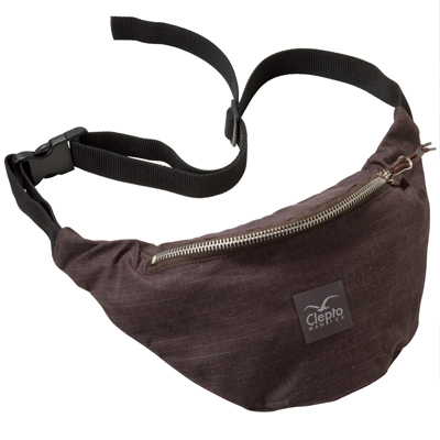 CLEPTOMANICX Hipbag HEMP 2 dark brown