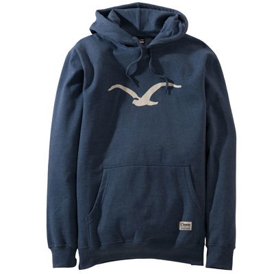 CLEPTOMANICX Hoody MÖWE heather blue