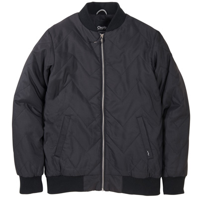 CLEPTOMANICX Jacket SHUTTLE QUILTED black
