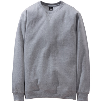 CLEPTOMANICX Sweater LIGULL II heather grey