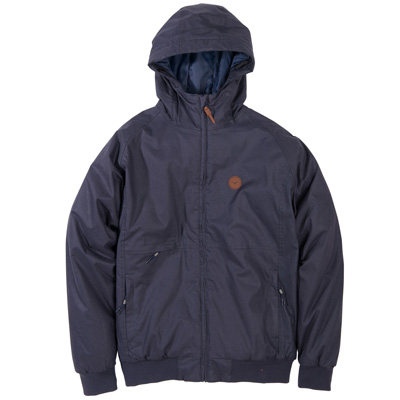 CLEPTOMANICX Winter Jacket POLARZIPPER HEMP II dark navy