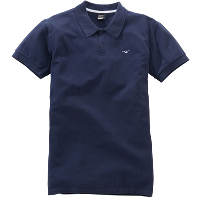 CLEPTOMANICX Polo Shirt MÖWE dark navy
