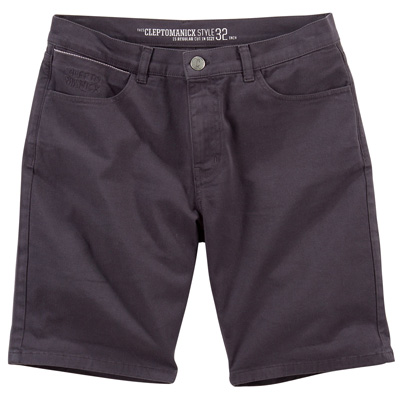 CLEPTOMANICX Shorts STASHO II pirate black