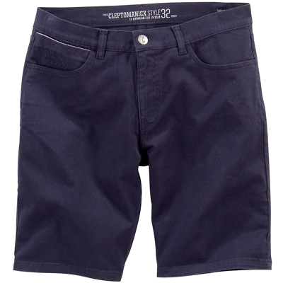 CLEPTOMANICX Shorts STASHO II dark navy