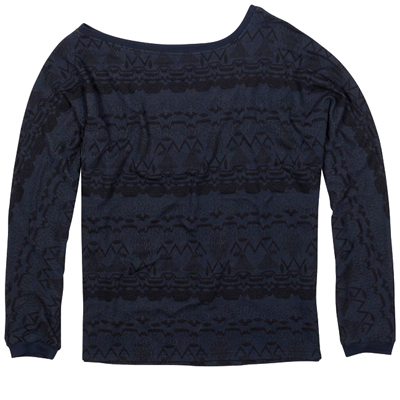 CLEPTOMANICX Girl Sweater SUJO POPOKATEPETL hth. navy