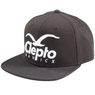 CLEPTOMANICX Snap Back Cap SUPER CI black
