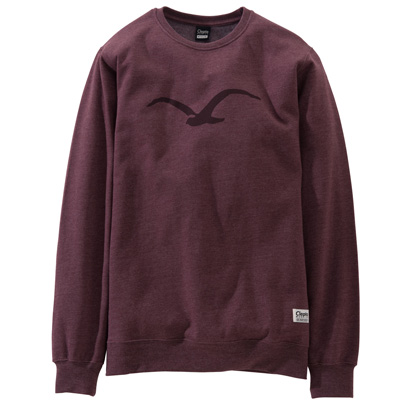 CLEPTOMANICX Sweater MÖWE tawny port