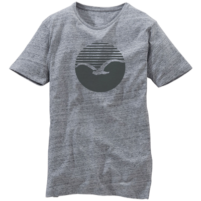 CLEPTOMANICX T-Shirt VINTAGE PRINT grey/black