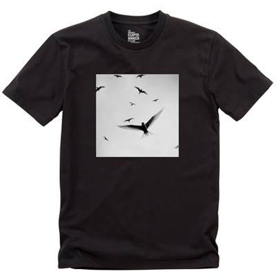 CLEPTOMANICX T-Shirt WINGS black
