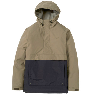 CLEPTOMANICX Winter Jacket CITYHHOODED dusty olive/black