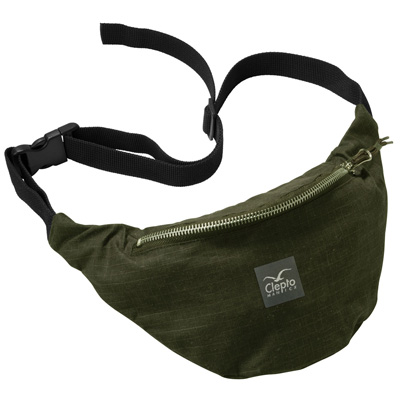 CLEPTOMANICX Hipbag HEMP 2 dark olive
