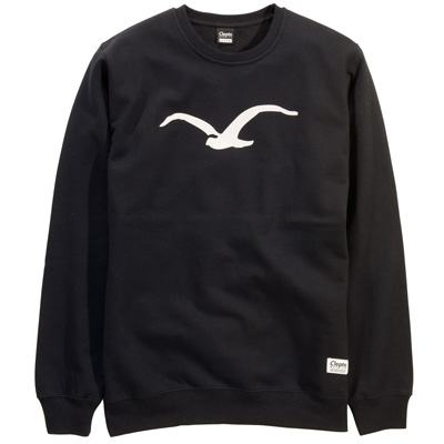 CLEPTOMANICX Sweater MÖWE black/creme