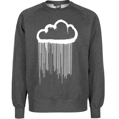 HEKTIK Sweater CLOUD black/white