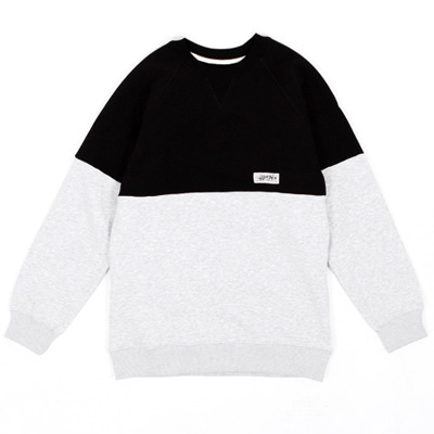 ANTEATER Sweater COMBO black/grey