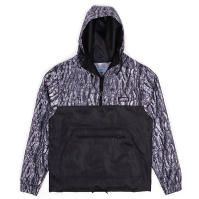ANTEATER Jacket DEWSPO ANORAK black/wood