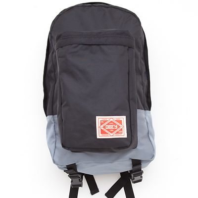 OBEY Backpack COMMUTER black/grey