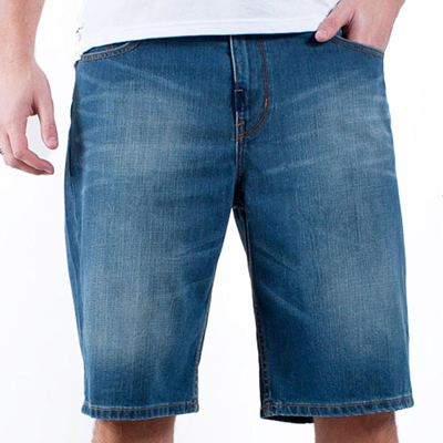 LRG Denim Shorts CC indigo wash