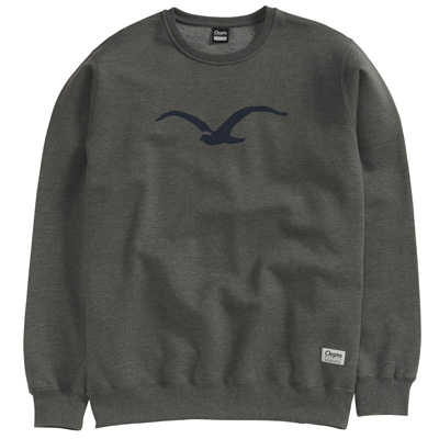 CLEPTOMANICX Sweater MÖWE heather dark olive