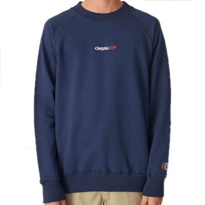 CLEPTOMANICX Sweater BENOIT dark navy