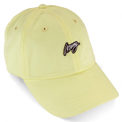 Wrung Division Paris - WRUNG Baseball Cap CREAM pale yellow - Curved ... a74ba6764c2