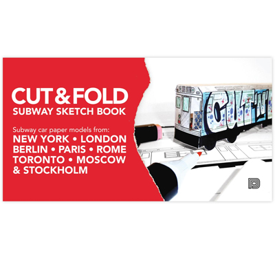 CUT & FOLD Subway Sketchbook