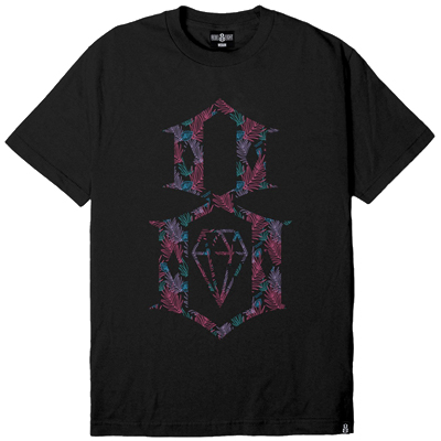 REBEL8 T-Shirt DALMAE black