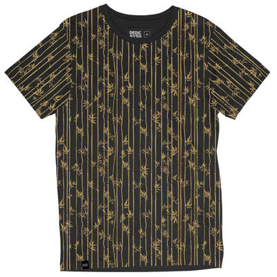 DEDICATED T-Shirt STOCKHOLM BAMBOO charcoal