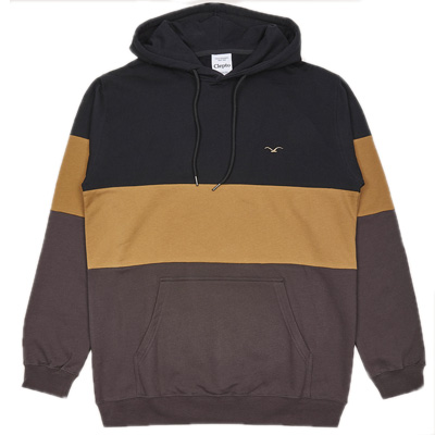 CLEPTOMANICX Hoody DEKKER black/beige/brown