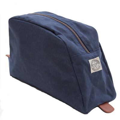 OBEY Dopp Kit DETOUR FIELD dusty navy