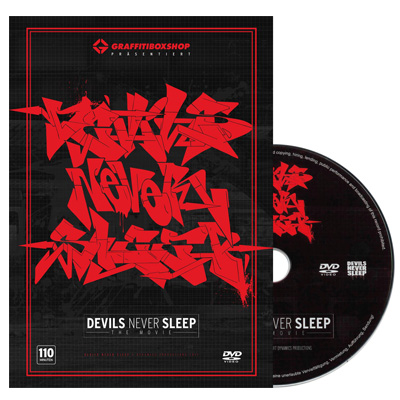 DEVILS NEVER SLEEP Graffiti DVD