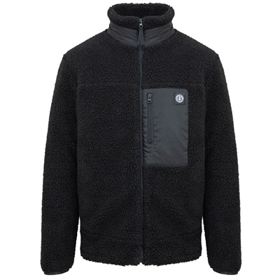 UNFAIR ATHLETICS Fleece Jacke POLARJACKET black