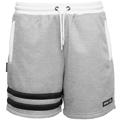 UNFAIR ATHLETICS Shorts DMWU heather grey/white