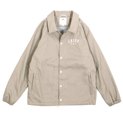 LASER Coach Jacke DIY STANDARD light beige