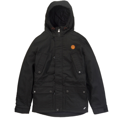 CLEPTOMANICX Winter Jacke DOPPLA COAT 3.0 black