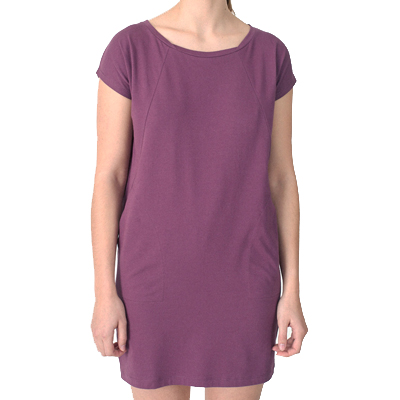 CLEPTOMANICX Girl Dress ORGANICX crushed violets