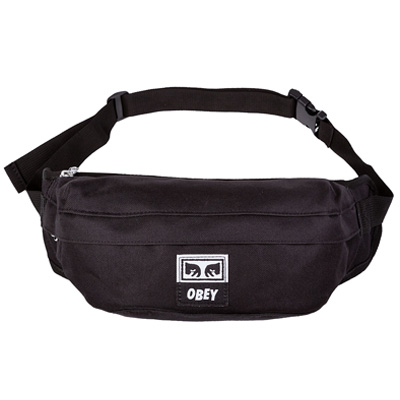 OBEY Bag DROP OUT SLING PACK black