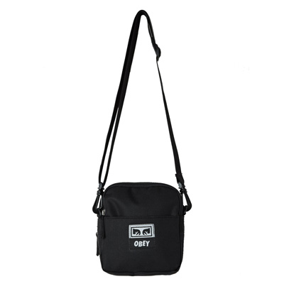 OBEY Bag DROP OUT TRAVELER BAG black