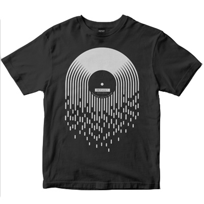 DEPHECT T-Shirt DROPS charcoal