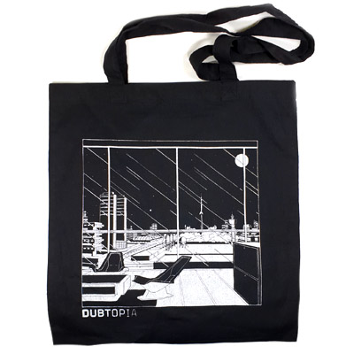 DUBTOPIA Tote Bag DBT002 black
